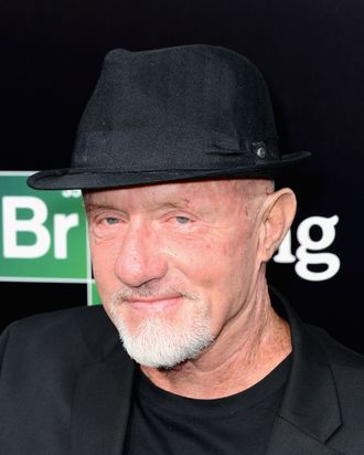 CULVER CITY, CA - JULY 24: Actor Jonathan Banks arrives as AMC Celebrates the final episodes of