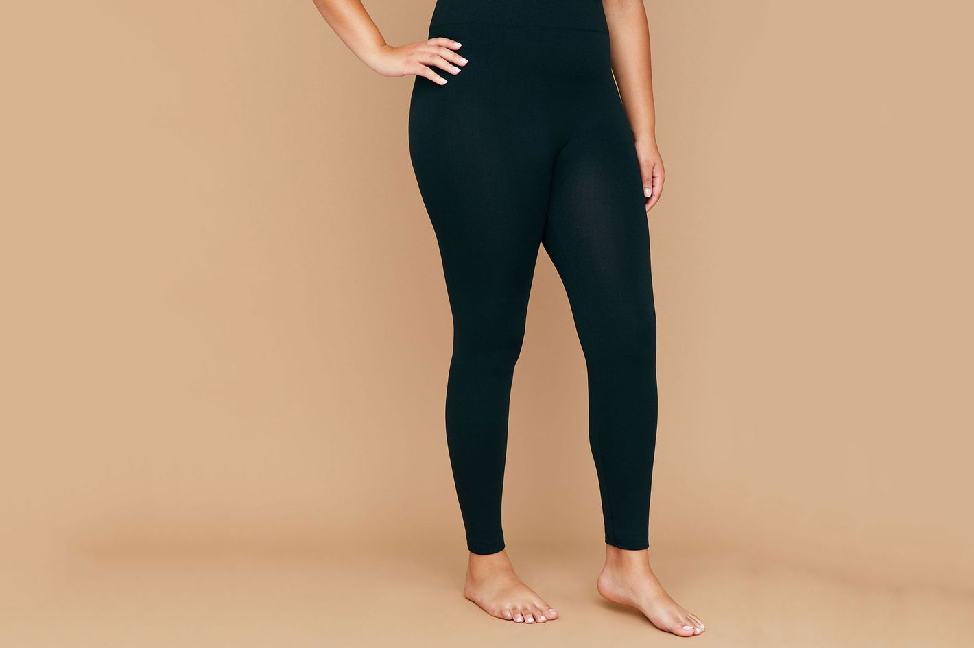 Seamless High Waist Fleece Lined Leggings