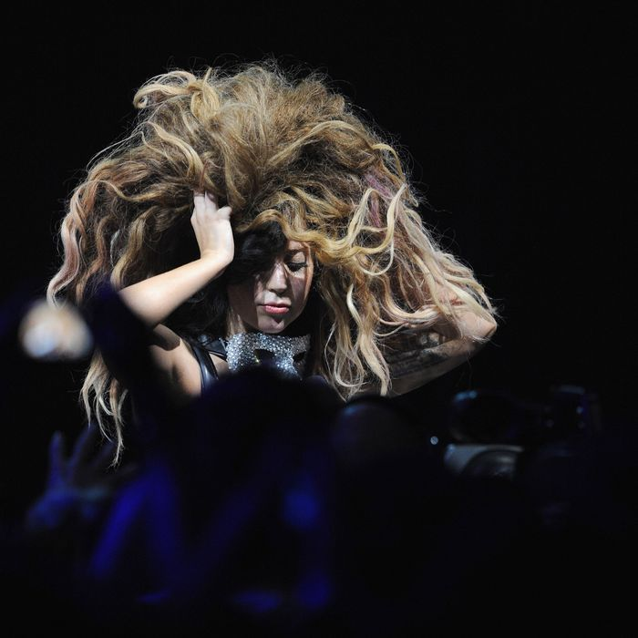 Confirmed This Is Lady Gagas Real Non Wig Hair