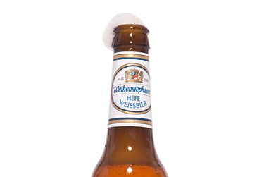"Weihenstephan (Germany)<br>$2.49 for 11.2 oz.<br><strong>Type:</strong> Hefeweizen<br><strong>Tasting notes:</strong> ""This is a summer classic from the oldest brewery in the world, situated in Freising, Germany. It's a refreshing, cloudy Weissbier with flavors of banana, clove, and wheat. The smell is as great as the taste.""<br>—Renee Esposito, co-owner, Breukkelen Bier Merchants<br>"