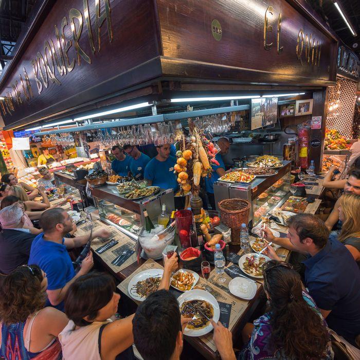 cool restaurants barcelona