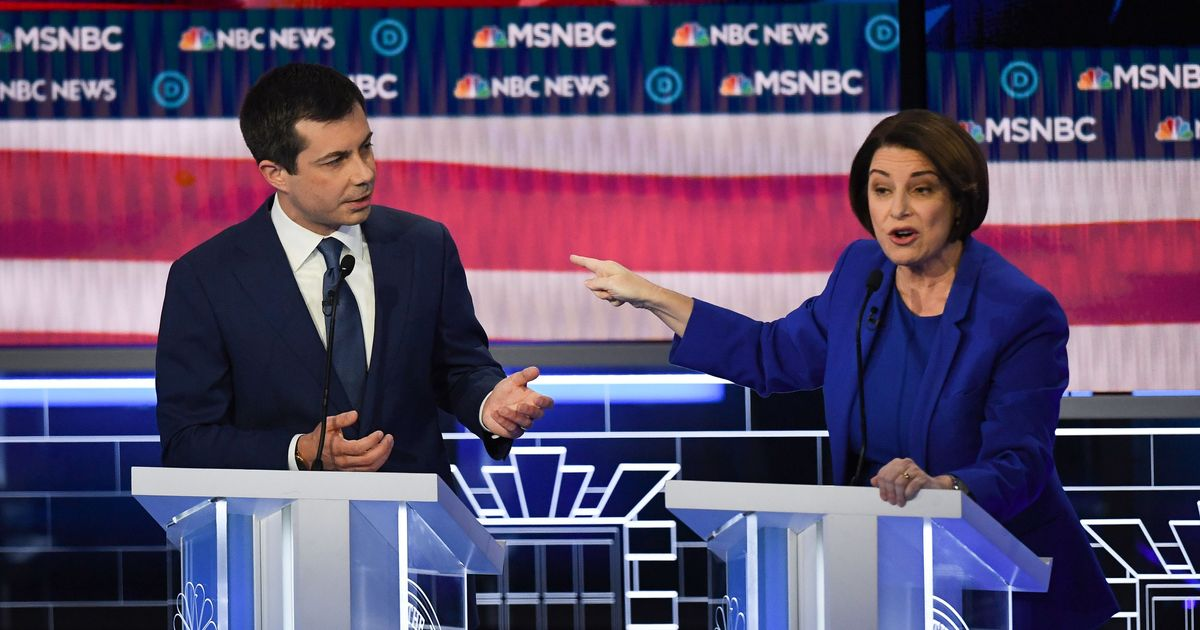 'Are You Trying to Say I'm Dumb?' Klobuchar and Buttigieg Get Testy at Debate
