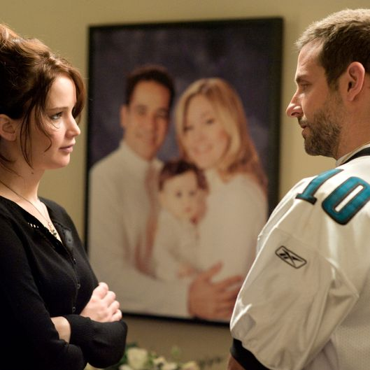 (L-R) JENNIFER LAWRENCE and BRADLEY COOPER star in SILVER LININGS PLAYBOOK