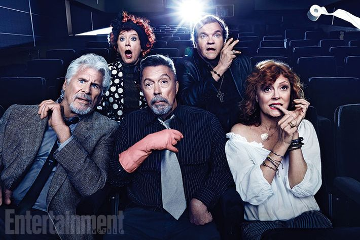 the rocky horror picture show cast takes their 40th anniversary