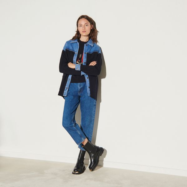 Jacket Style Cardi-Coat