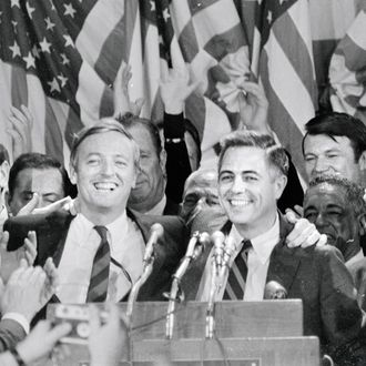 William Buckley Jr. Celebrating election Victory of His Brother