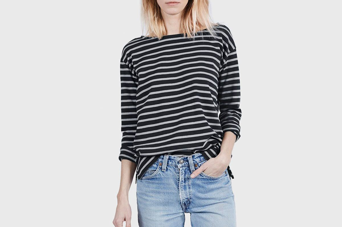 51933c4dc5 10 Best Breton-Striped Shirts for Women 2018