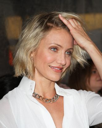 Cameron Diaz at the 'What To Expect When Your Expecting ' Premiere in NYC.