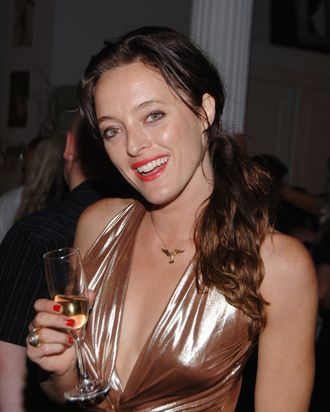 Designer Alice Temperley attends the Moet & Chandon at Temperley Spring 2008 after party during Mercedes Benz Fashion Week Spring 2008 on September 8, 2008 in New York City.