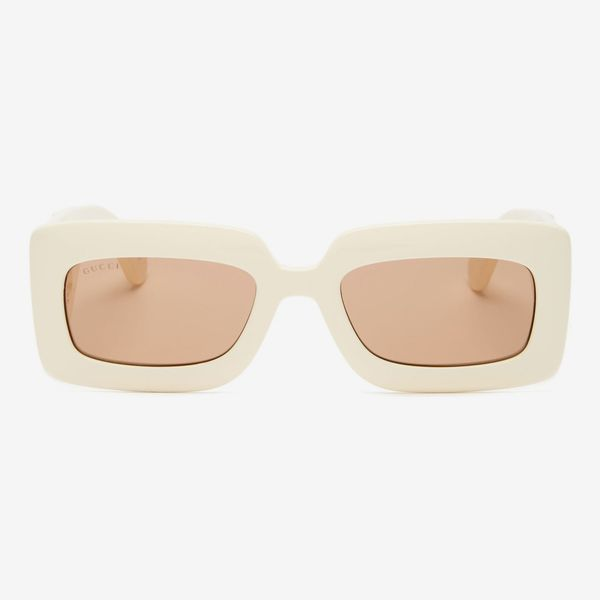 Gucci GG-Logo Quilted Sunglasses