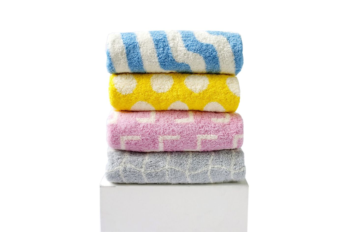 Dusen Dusen set of four bath towels