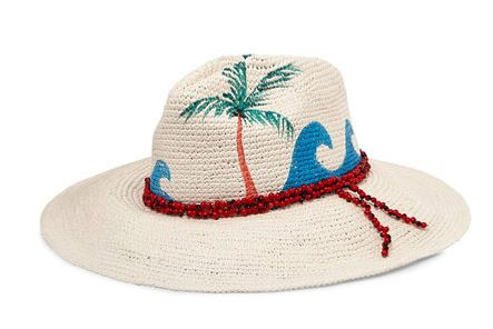 Sensi Studio Beaded Panama hat