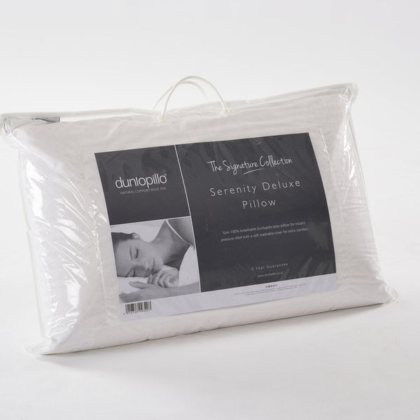 Dunlopillo Double Comfort Pillow Latex