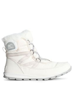 Sorel Whitney Faux-Fur-Trimmed Shell Snow Boots