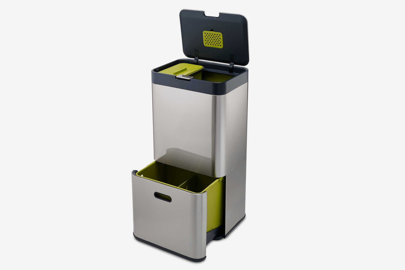 Joseph Joseph Totem 60 Stainless Steel Waste Separation & Recycling Unit