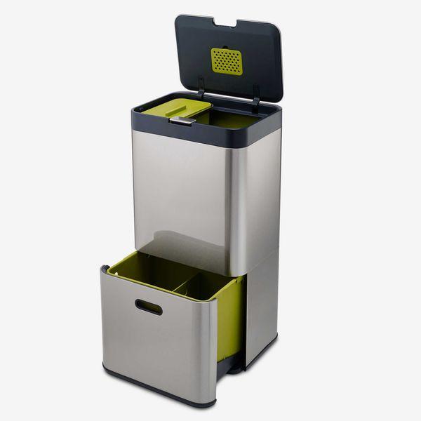 Joseph Joseph Totem 60 Stainless Steel Waste Separation & Recycling Unit