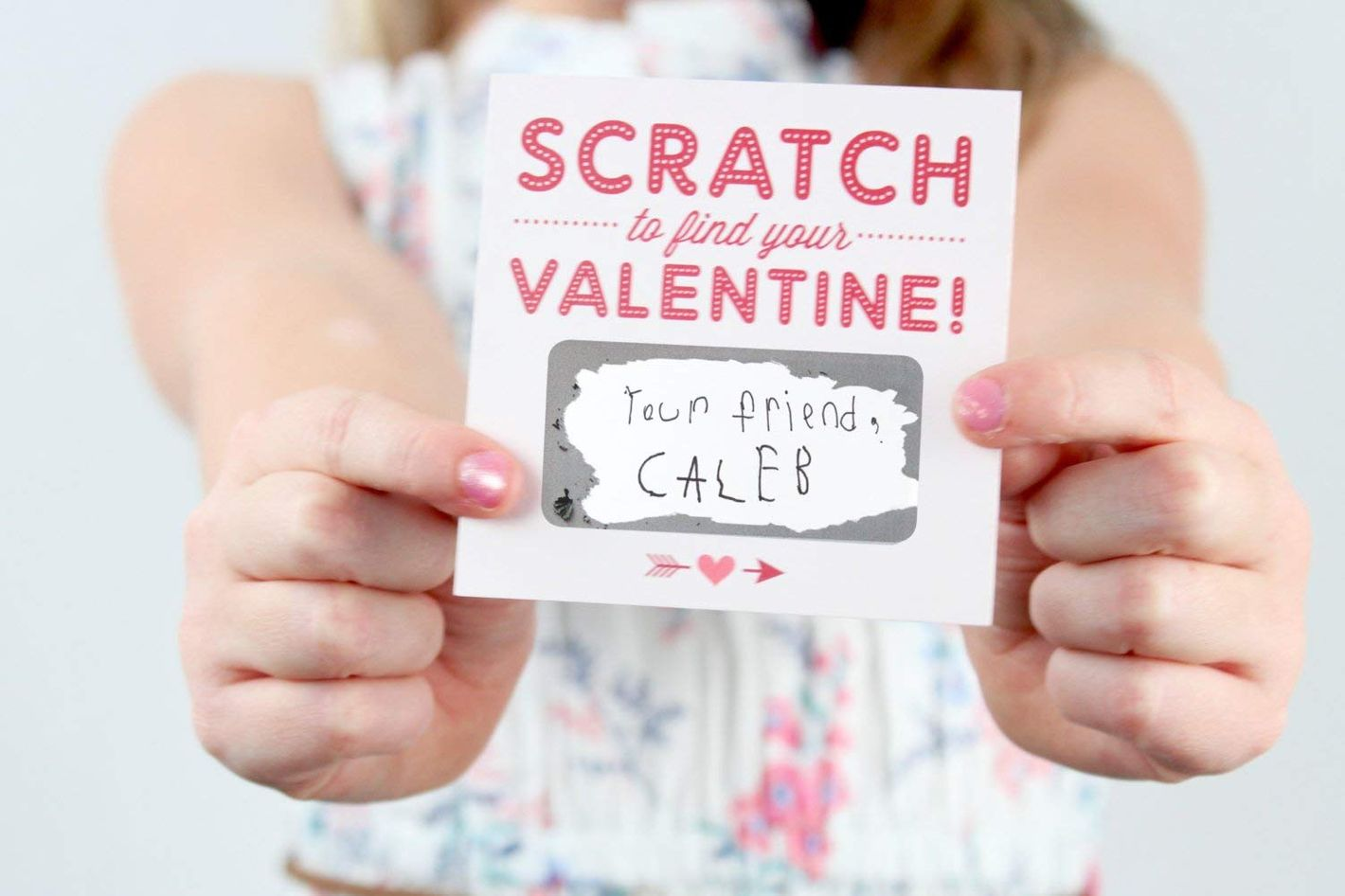 Scratch-off Valentines Day Cards - Pack of 24