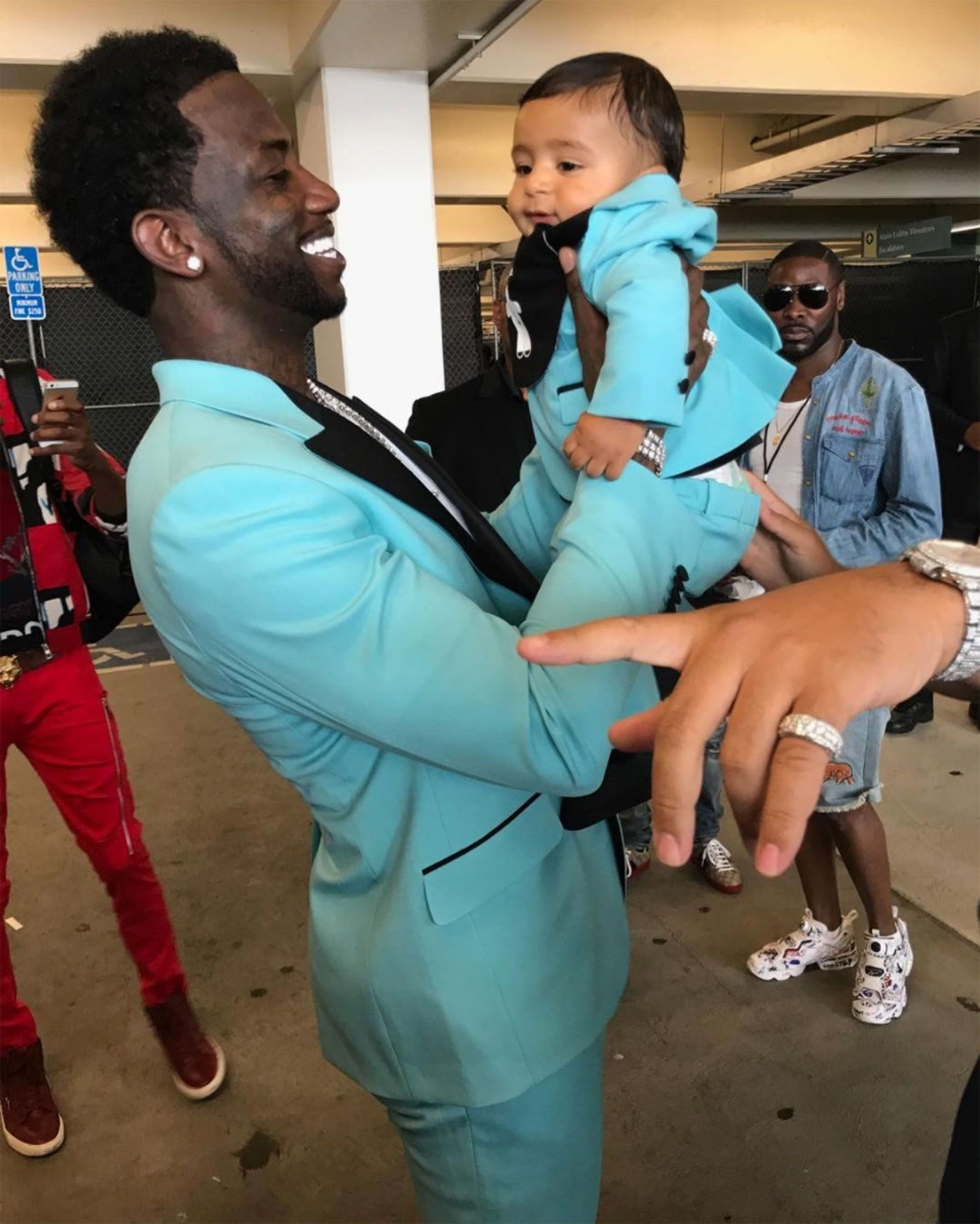 04432cbd0 Gucci Mane and DJ Khaled s Son Wore Same BET Awards Outfit
