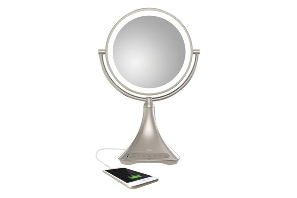 iHome All-In-One 2-Sided LED Makeup Mirror