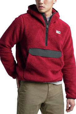 The North Face Men's Campshire Pullover Hoodie, Cardinal Red