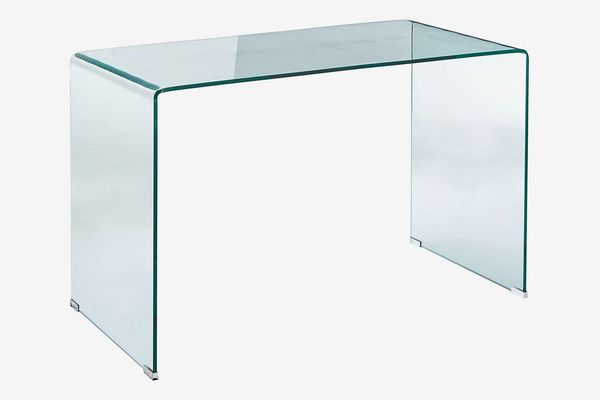 Coaster Home Furnishings Clear and Chrome Writing Desk