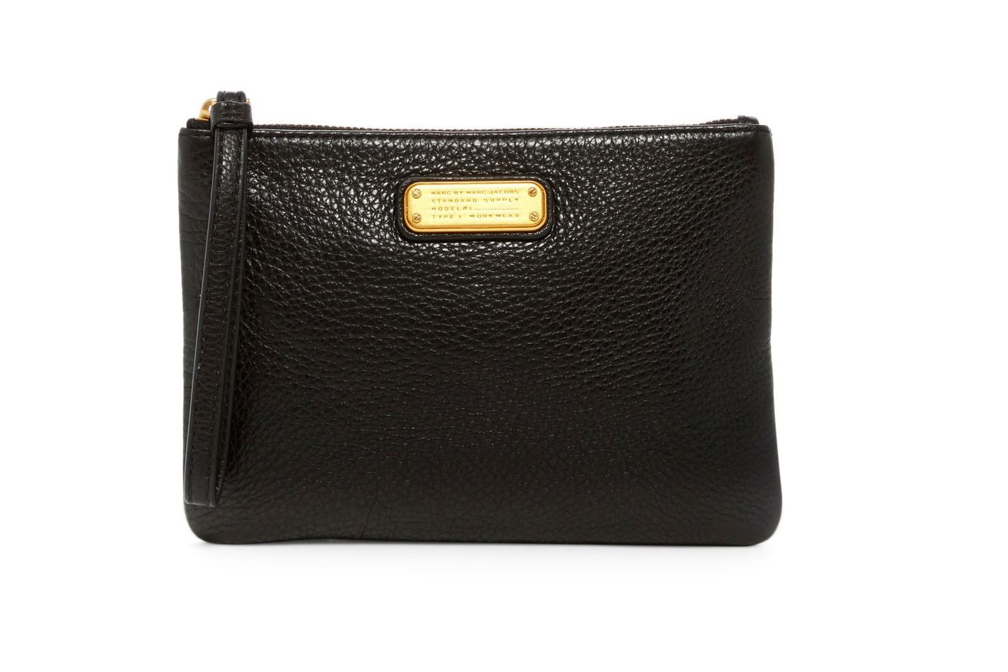 Marc by Marc Jacobs New Q Leather Wristlet Pouch