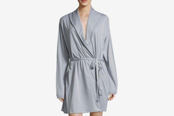 SKIN Double Layer Wrap Cotton Robe