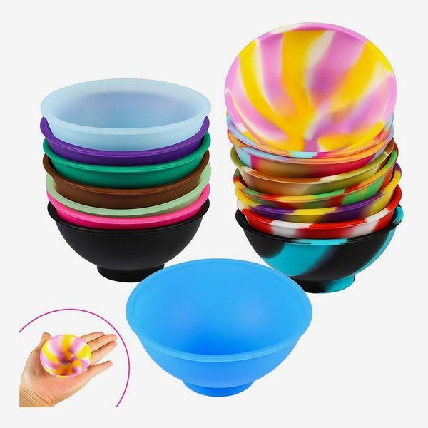 Picowe Mini Silicone Pinch Bowls, Pack of 16