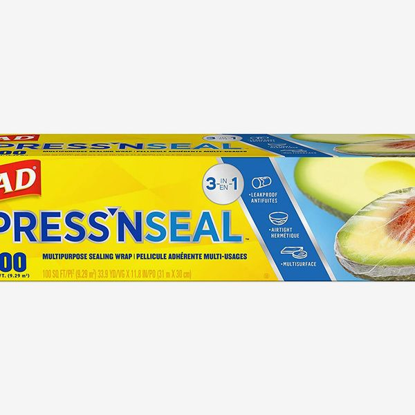 Glad® Press'n Seal® Plastic Food Wrap - 100 Square Foot Roll (Pack of 3)