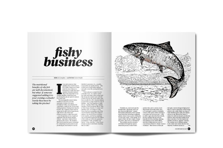 Fishy business indeed.