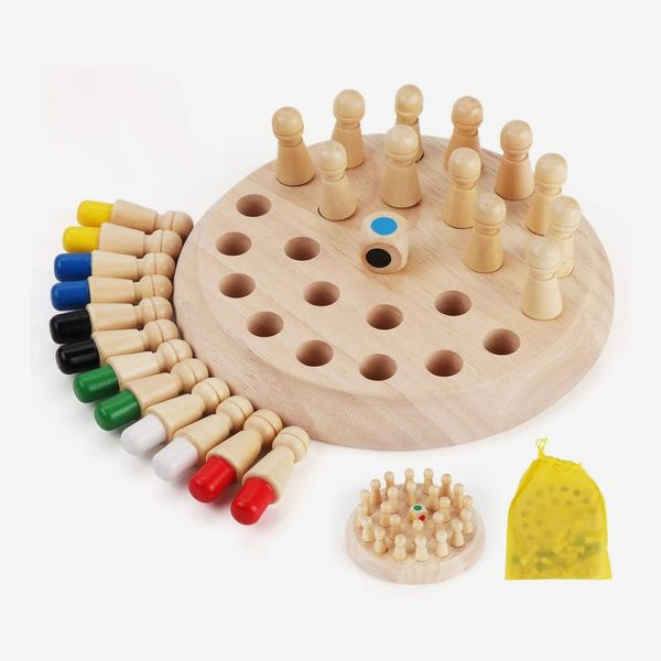 Anstore Wooden Memory Chess