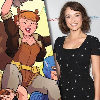 milana vayntrub of this is us will play squirrel girl