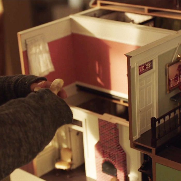 Where the Sidewalk Ends and Falling Up dollhouse miniature books