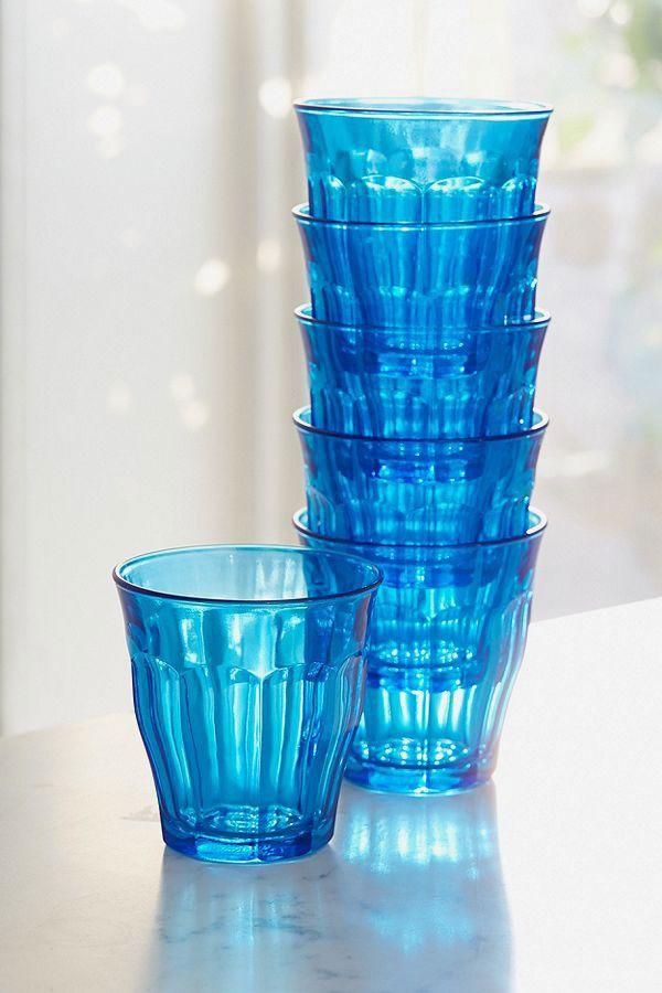 Duralex Color Pop Glass — Set of 6