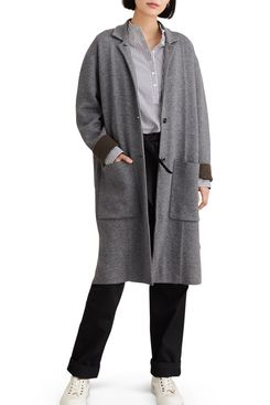 Alex Mill Wool Blend Sweater Coat