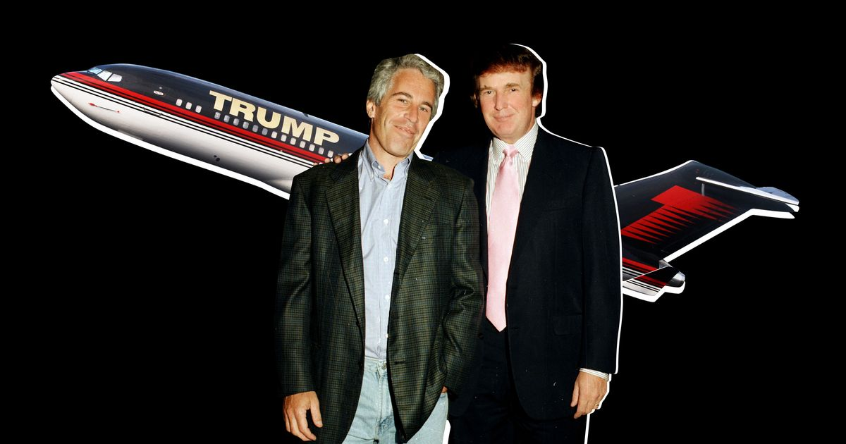 Remembering the Time Jeffrey Epstein Rode on Trump's Plane
