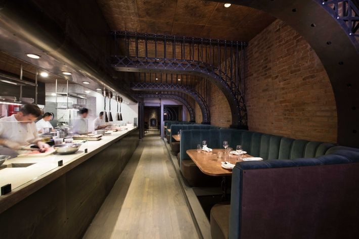 Dara Young and Anna Niedermeyer designed the 70-seat restaurant.