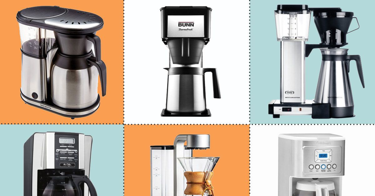 11 best coffee makers for brewing at home for Apartment therapy coffee maker