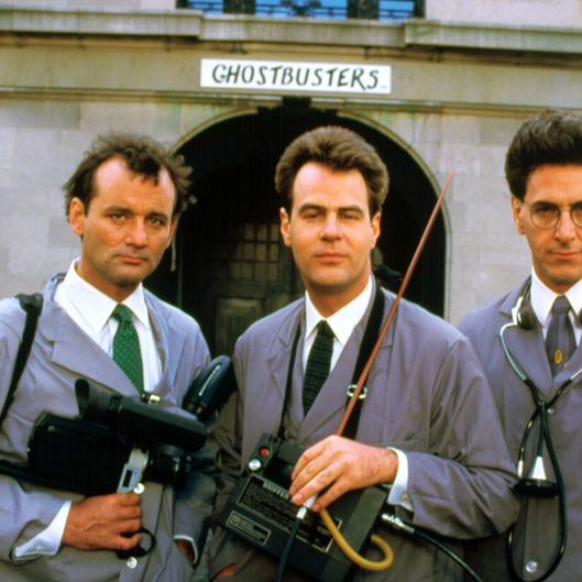 GHOSTBUSTERS, Bill Murray, Dan Aykroyd, Harold Ramis, 1984. (c) Columbia Pictures/ Courtesy: Everett Collection.