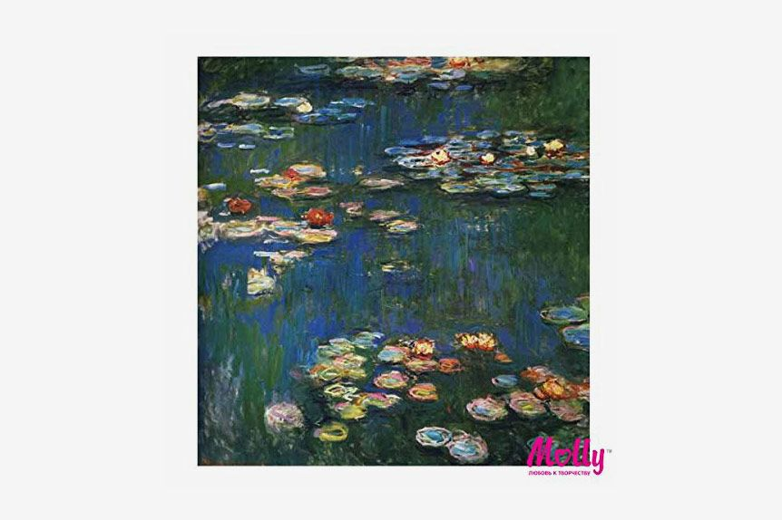 Claude Monet Water Lilies Paint by Numbers