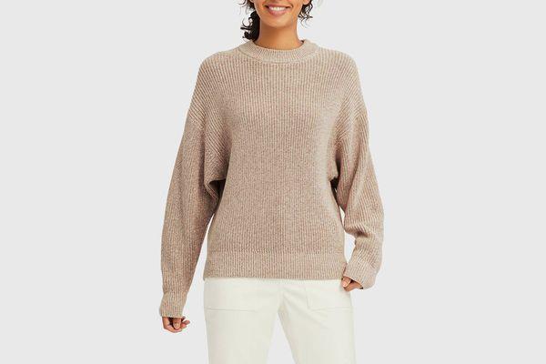Uniqlo Mixed Dolman Sleeve Sweater