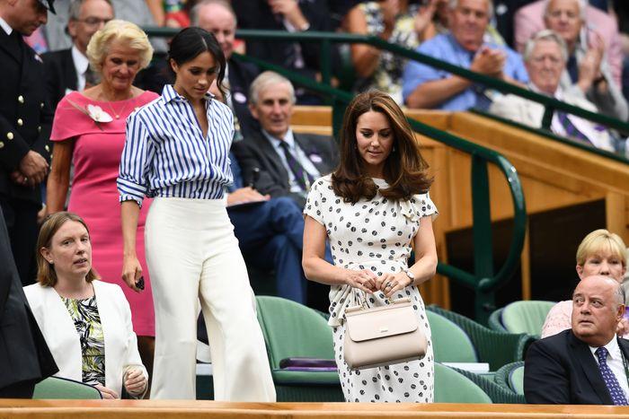 Meghan and Kate at Wimbledon.