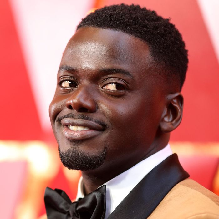 Daniel Kaluuya at the 2018 Oscars