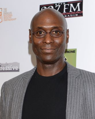 PLAYA DEL REY, CA - OCTOBER 20: Actor Lance Reddick attends Michelle Alexander VIP Reception And Justice On Trial Film Festival at Loyola Marymount University on October 20, 2013 in Playa del Rey, California. (Photo by Vivien Killilea/WireImage)