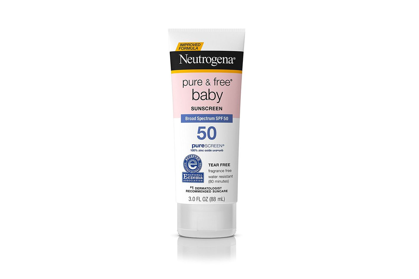 Neutrogena Pure & Free Baby Mineral Sunscreen Broad Spectrum SPF50