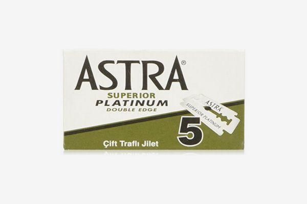 Astra Platinum Double Edge Razor Blades (100 Count)