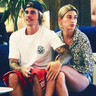 Justin Bieber and Hailey Baldwin.