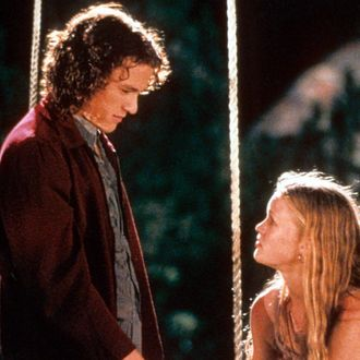 Heath Ledger And Julia Stiles In '10 Things I Hate About You