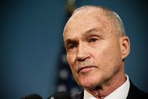 New York Police Department (NYPD) Commissioner Ray Kelly speaks at a press conference  about the NYPD's Stop-and-Frisk practice on August 12, 2013 in New York City. A federal court judge ruled that Stop-and-Frisk violates rights guaranteed to people; the Bloomberg administration has vowed to appeal the case.