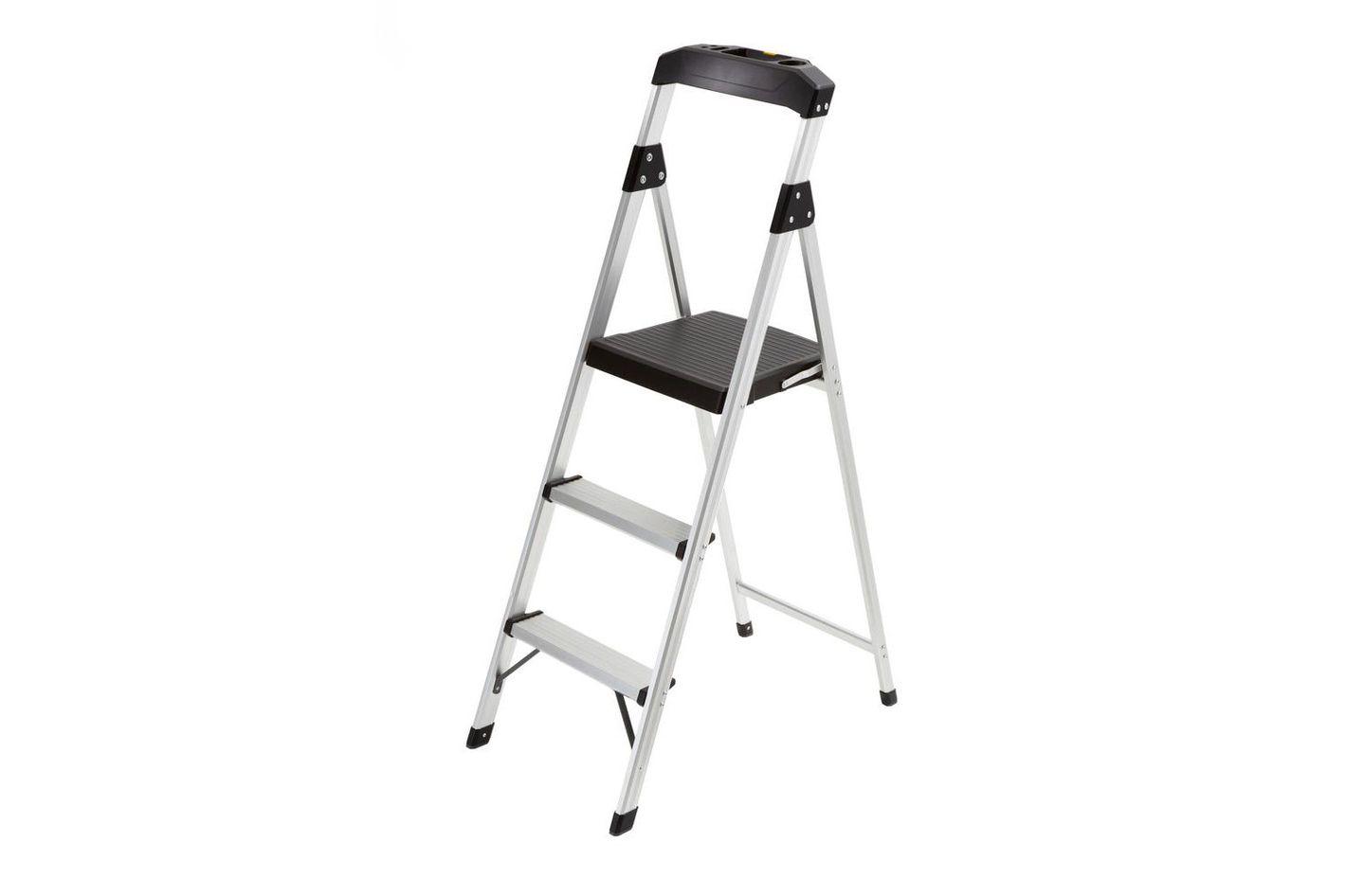 Gorilla Ladders 3-Step Aluminum Step Stool Ladder